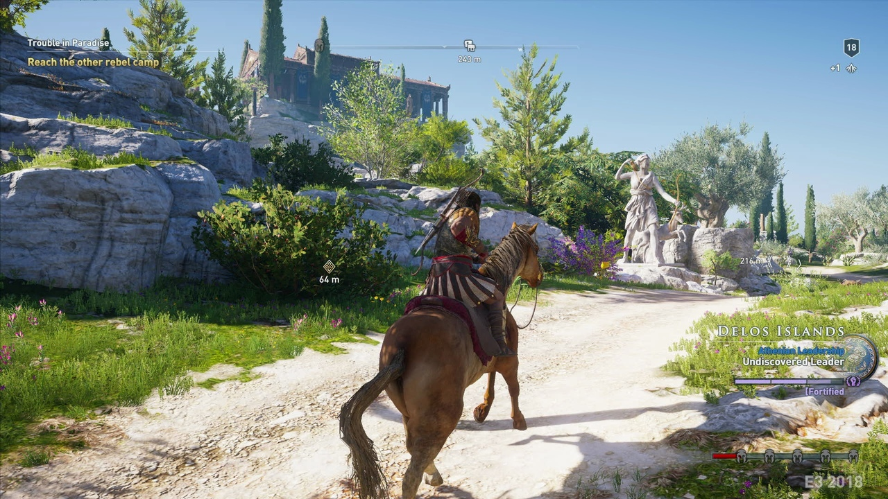 Assassin's Creed: Одиссея, 2018 год