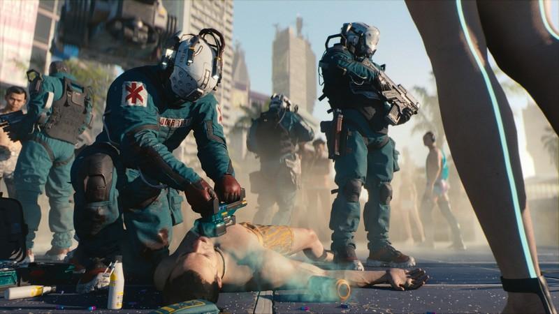 Cyberpunk 2077 кадр
