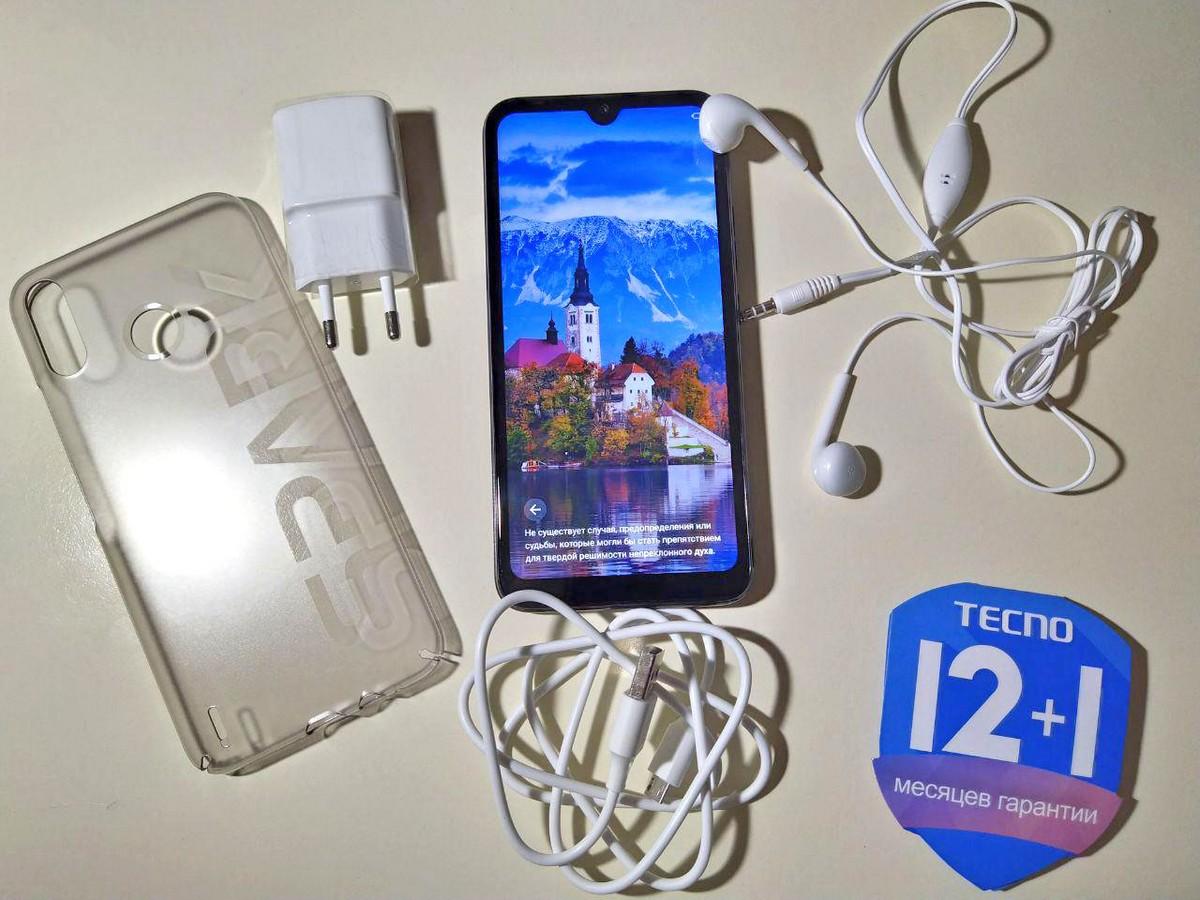 Tecno Spark 4 Air - смартфон с акцентом на камеру и экономичность