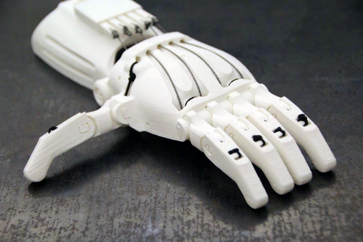 3-D печатная рука