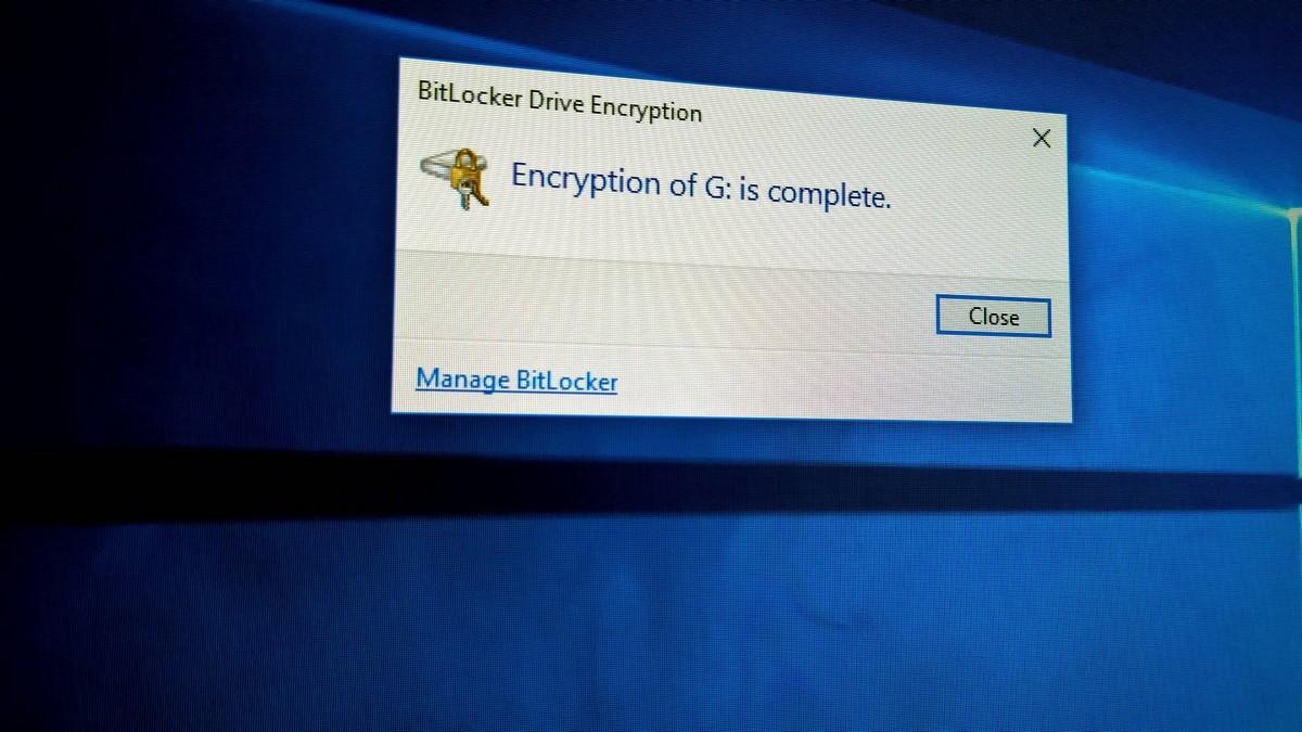 Шифрование данных с помощью BitLocker
